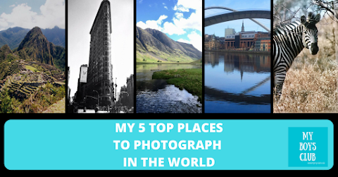 My 5 Favourite Places to Photograph (AD)