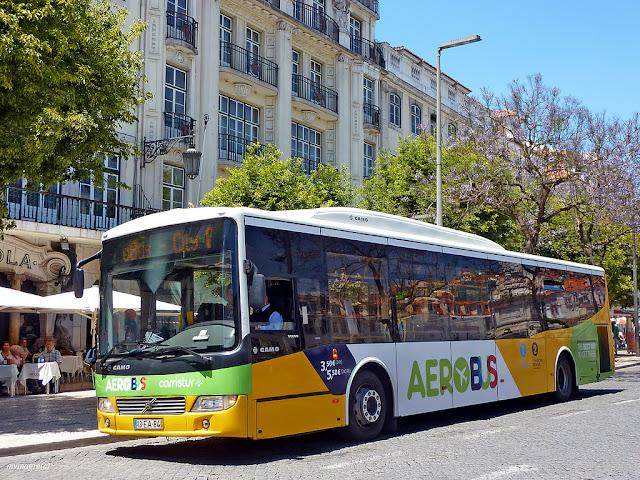 Ônibus do aeroporto de Lisboa até o centro