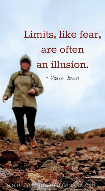 Limits, like fear, are often an illusion. ~Michael Jordan