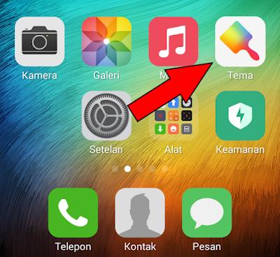 Cara Mengganti Tema Xiaomi Menjadi Tema iOS (iPhone) 10