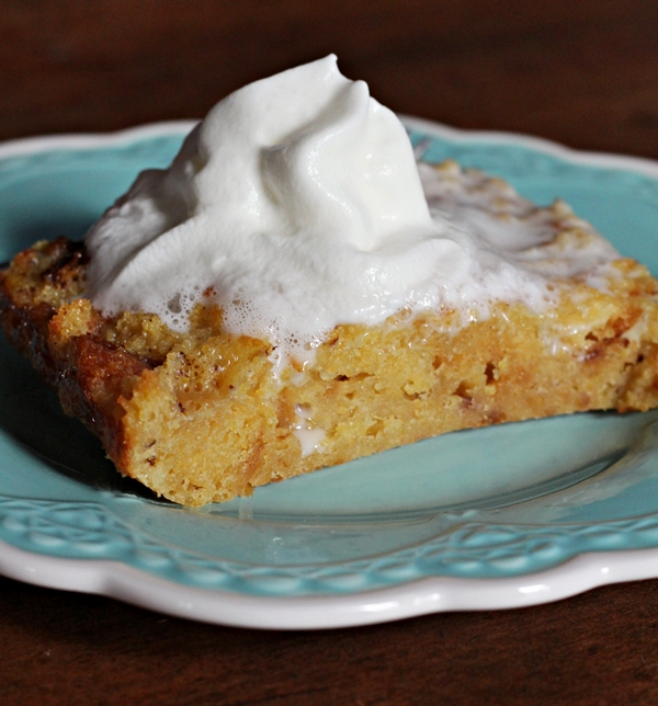 Jam Hands Sweet Cornbread Pudding