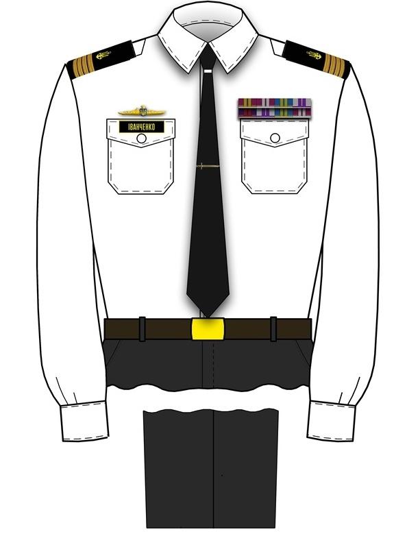 форма офіцерів ВМС