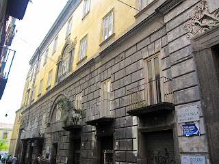 The Conservatorio di Musica San Pietro a Majella in Naples was established during Napoleonic rule of the city