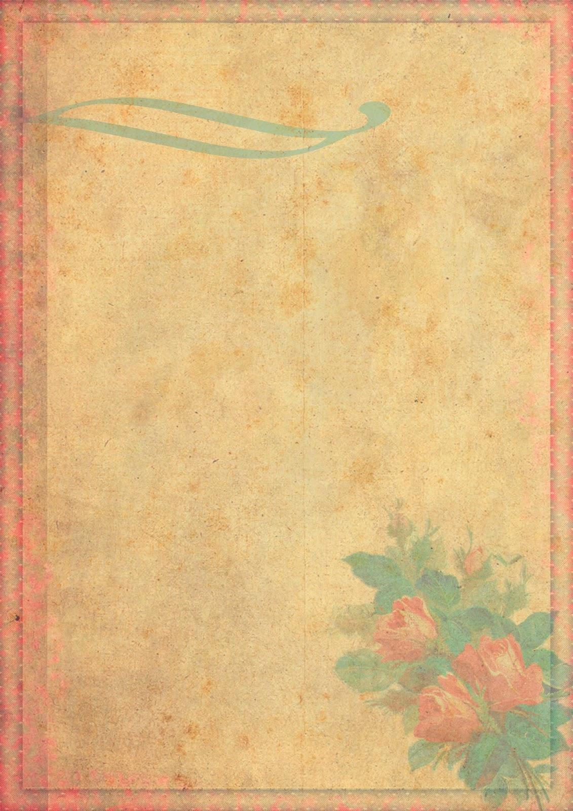 Imprimibles y png gratis para scrapbooking y otras - Papel vintage pared ...