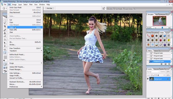 photoshop tutorial for beginners  photoshop tutorial for beginners how to blur background in