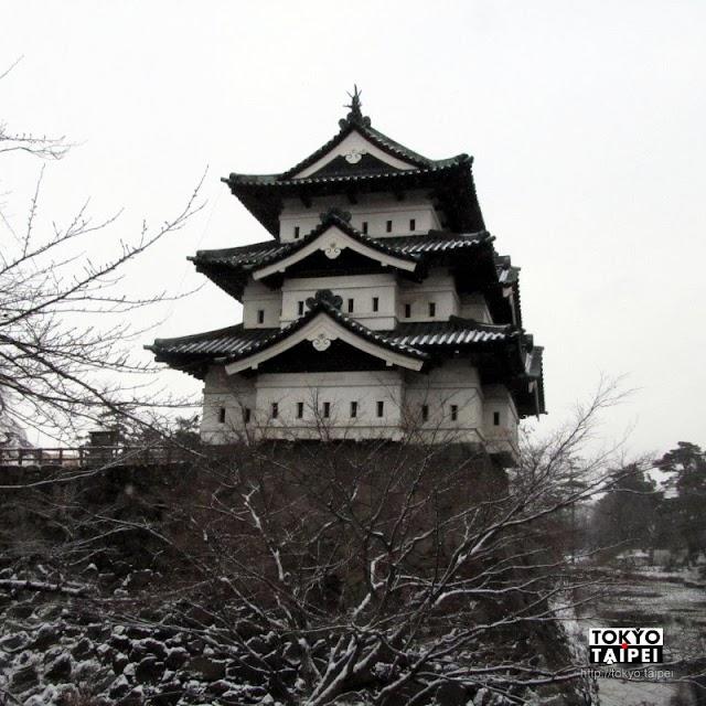 【弘前城】400年古城 日本最北的現存天守