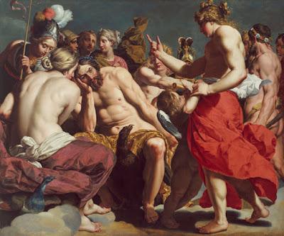 Jupiter reprendido por Venus