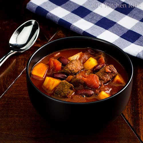 Meat and Potatoes Chili
