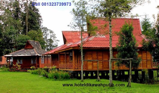 Booking villa di area wisata kawah putih dari jember