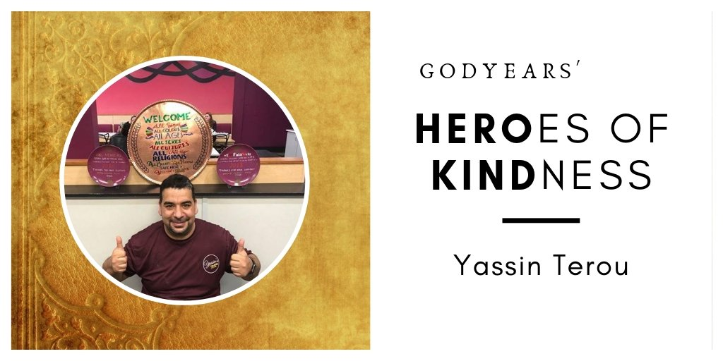 Yassin Terou fought prejudice with love and inclusiveness to revolutionize the people's mindset of Muslim immigrant refugees.