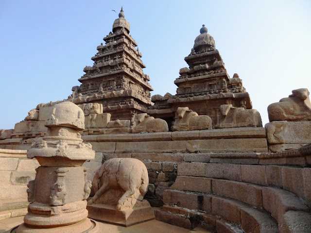 Shore Temple of Mahabalipuram - ancient Pallava architecture