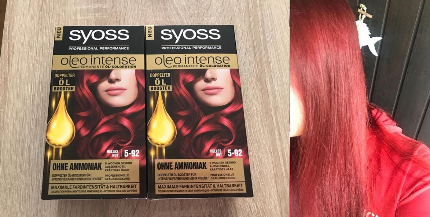 Moje czerwone włosy, jakiej farby używam?SYOSS!