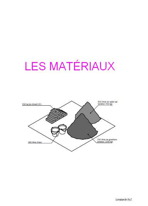 les mat riaux de construction pdf book batiment. Black Bedroom Furniture Sets. Home Design Ideas
