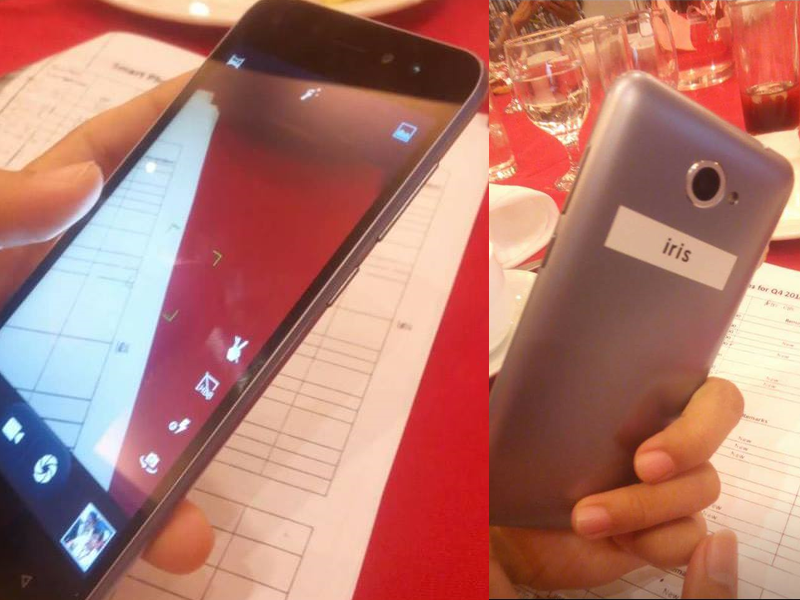 Cherry Mobile Iris Showcased, A Budget Phone With Iris Scanner For PHP 3499 Only!