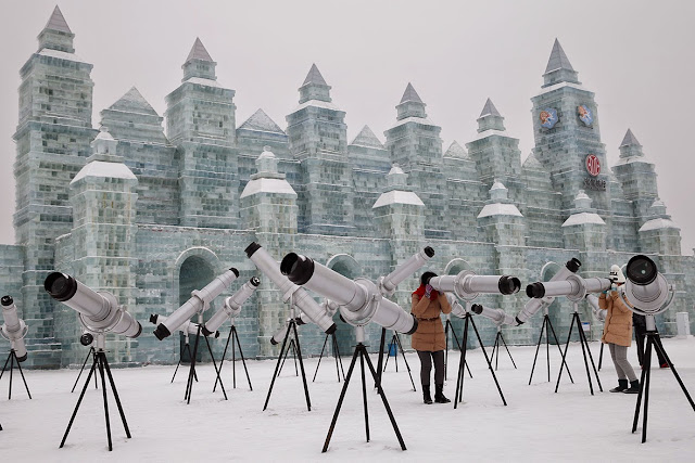 Harbin International Ice and Snow Festival 2015