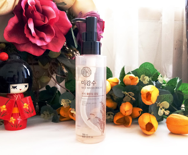 Review The Face Shop Rice Water Bright Rich Cleansing Oil