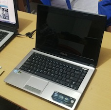 jual laptop 2nd asus a43sv
