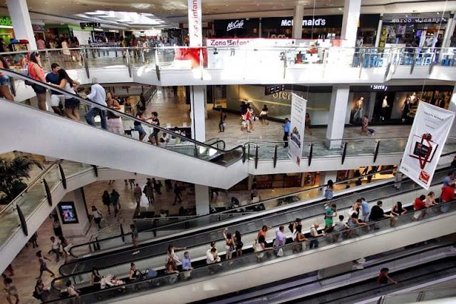 Shoppings em Madri