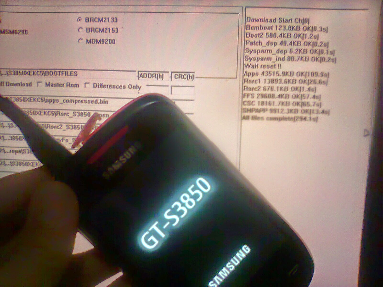 download firmware samsung corby 2 gt-s3850
