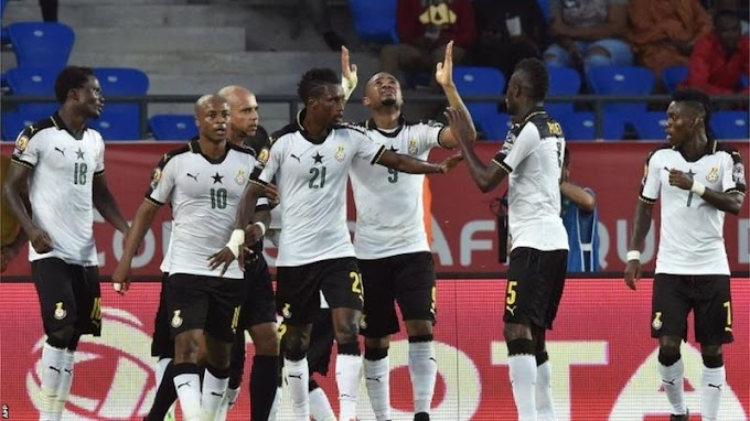 AFCON 2017: Ghana beat DR Congo 2-1 to reach semi-finals