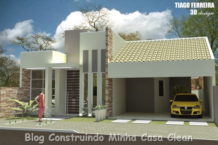 Plantas de Casas Pequenas - Modelos de plantas de casas