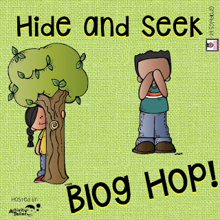 Hide and Seek SLP Bloghop- Speech therapy is happening all over school!