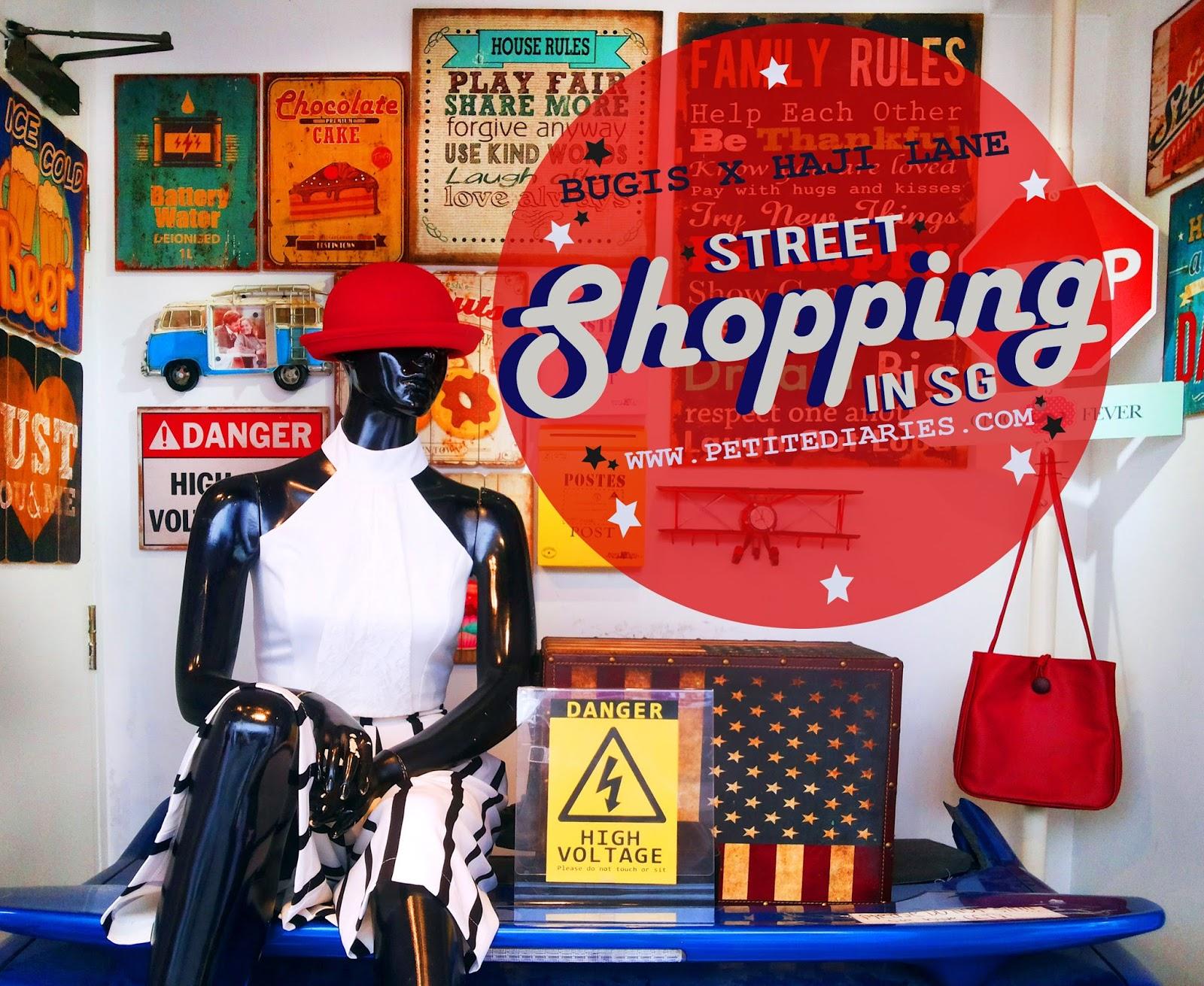 street shopping singapore