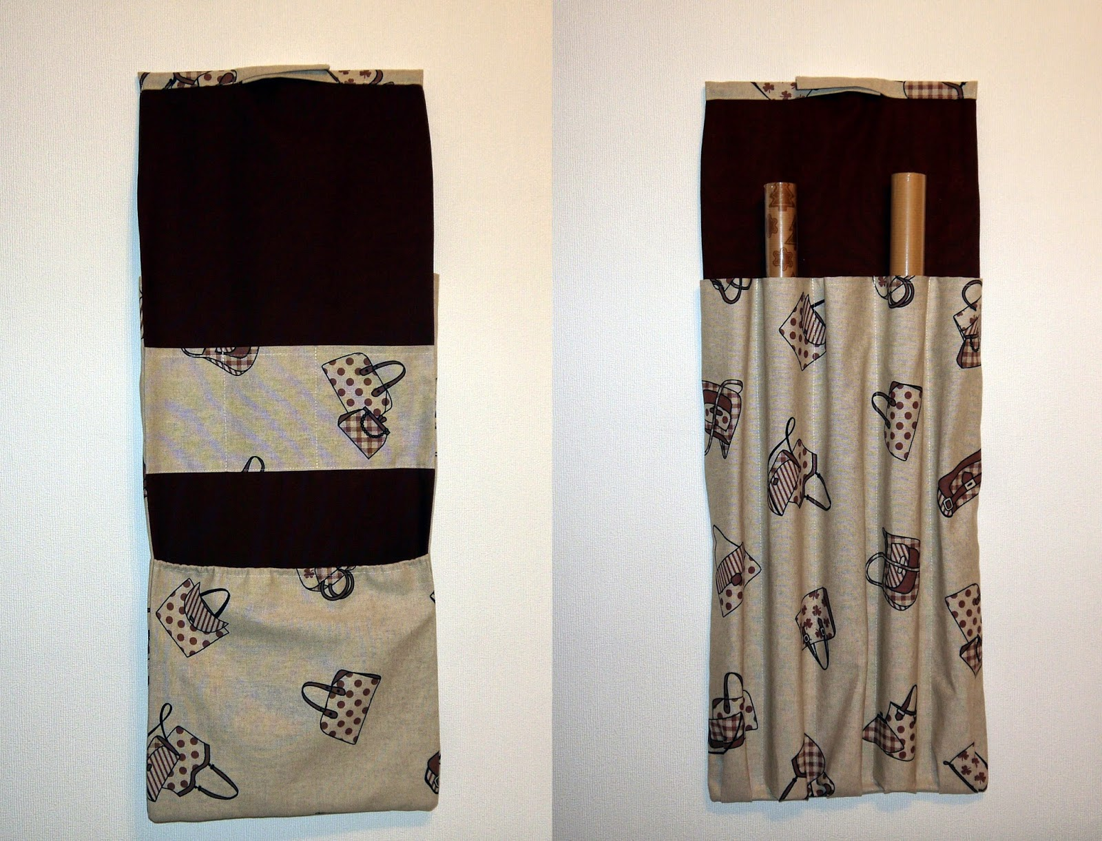 textilschmuck modeschmuck utensilo f r geschenkpapier rollen. Black Bedroom Furniture Sets. Home Design Ideas