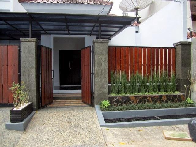 Contoh Pagar Kayu Rumah Minimalis Terbaru 2014 - Blog ...