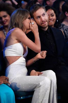 Both lovers at Music billboard