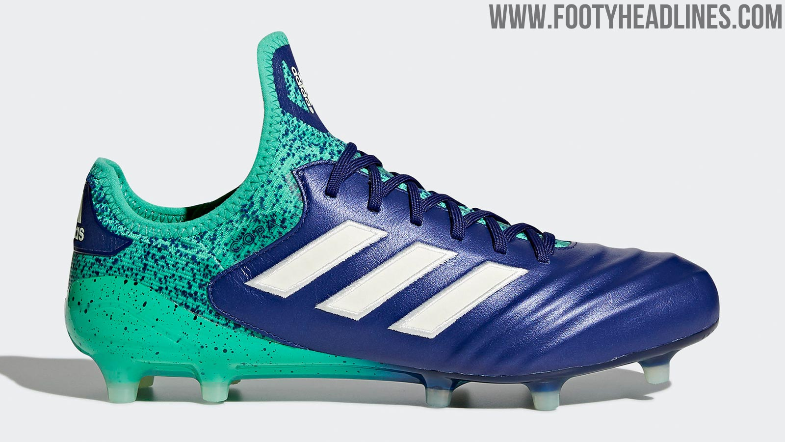 6899ff2f4 Adidas Copa 18.1 - Unity Ink   Aero Green   Hi-Res Green. This is the Adidas  Copa 18  Deadly Strike  football boot edition.
