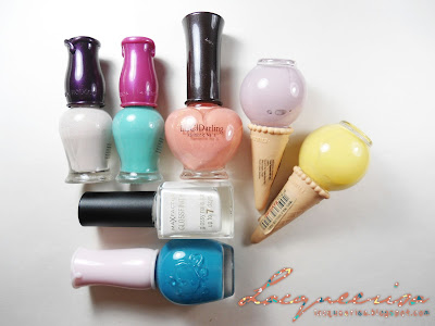 Lacqueerisa: Nail polishes used