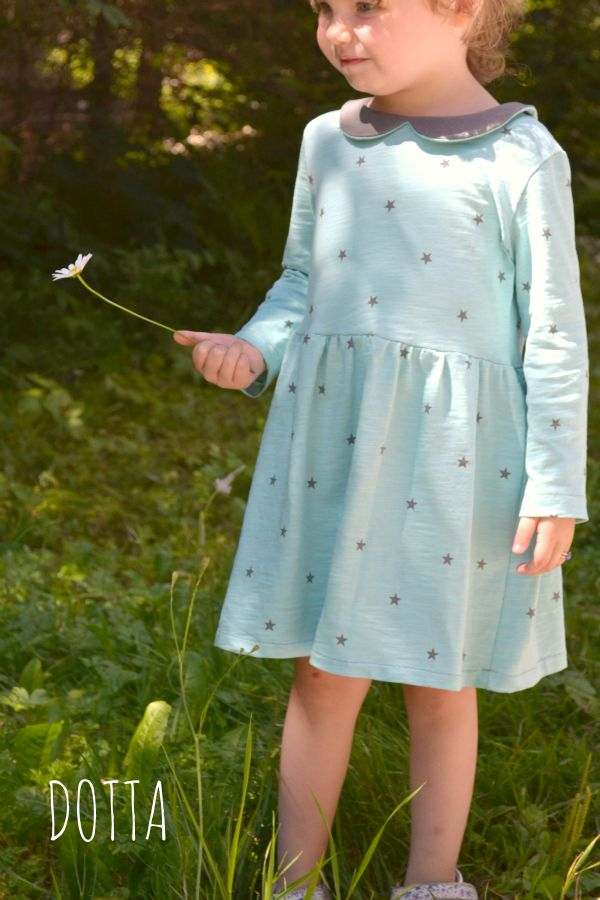 Nosh Fabrics - Starry Dress by Dotta