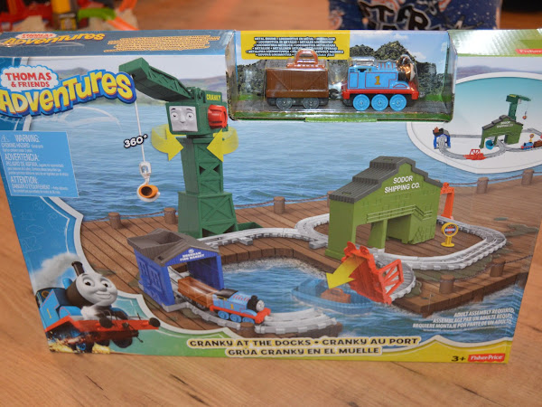 Review - Thomas & Friends Adventures, Cranky At The Docks