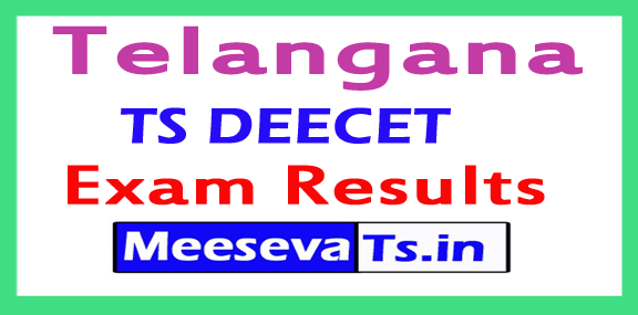 TS DEECET Exam Results 2018
