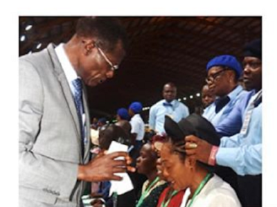 Tinubu attends RCCG convention as wife gets ordained as assistant pastor