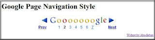 Page Navigation Seperti Google