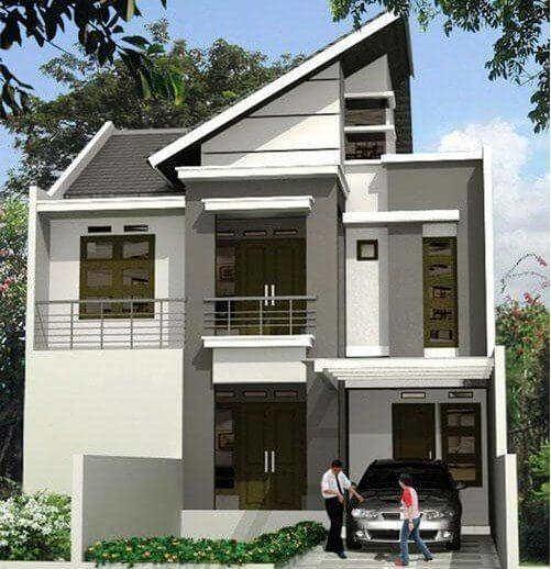 Rumah Sederhana Minimalis 2 Lantai