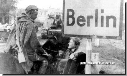 german girl befirends russian soldier berlin 1945