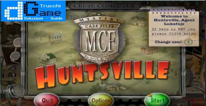 Soluzioni Mystery Case Files Huntsville livello 1 2 3 4 5 6 7 8 9 10 | Trucchi e Walkthrough level