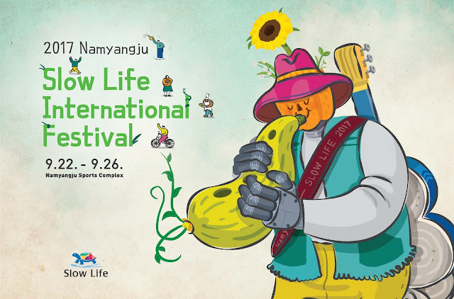 Tired of a Busy Life? Attend Slow Life International Festival At Namyangju for FREE!!!