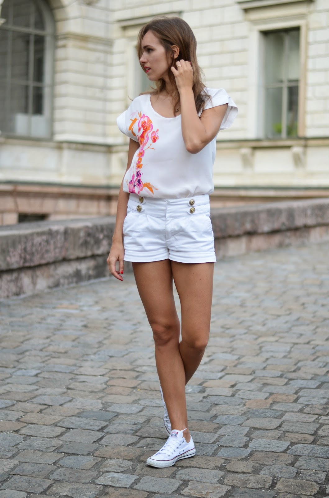 kristjaana mere all white summer 2015 outfit trend