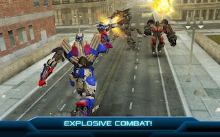 Free Download Game TRANSFORMERS AGE OF EXTINCTION MOD APK Terbaru 2018