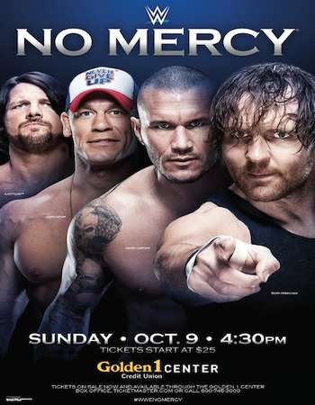 Poster Of WWE No Mercy 9th October 2016 PPV 650MB HDTV 480p x264 Free Download Watch Online downloadhub.net