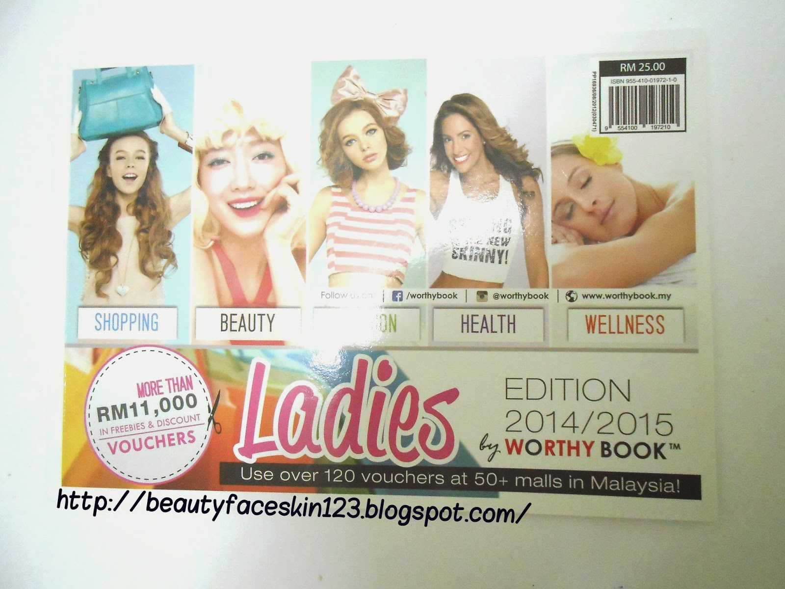 REVIEW ON WORTHY BOOK LADIES EDITION 2014/2015