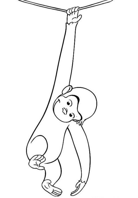 Gambar List Contoh Mewarnai Monyet Pict Pictures Gambar Tokoh Kartun