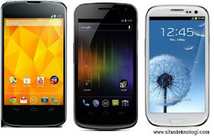 nexus 4 vs galaxy nexus, perbandingan nexus 4 dnegan samsung galaxy s III, adu hp android kelas atas canggih