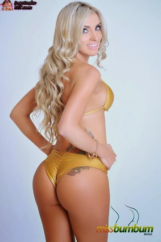 Luanda Fraga, candidata ao Miss Bumbum Brasil 2013