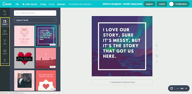 Cara Membuat Gambar Untuk Social Media dan Blog dengan Canva