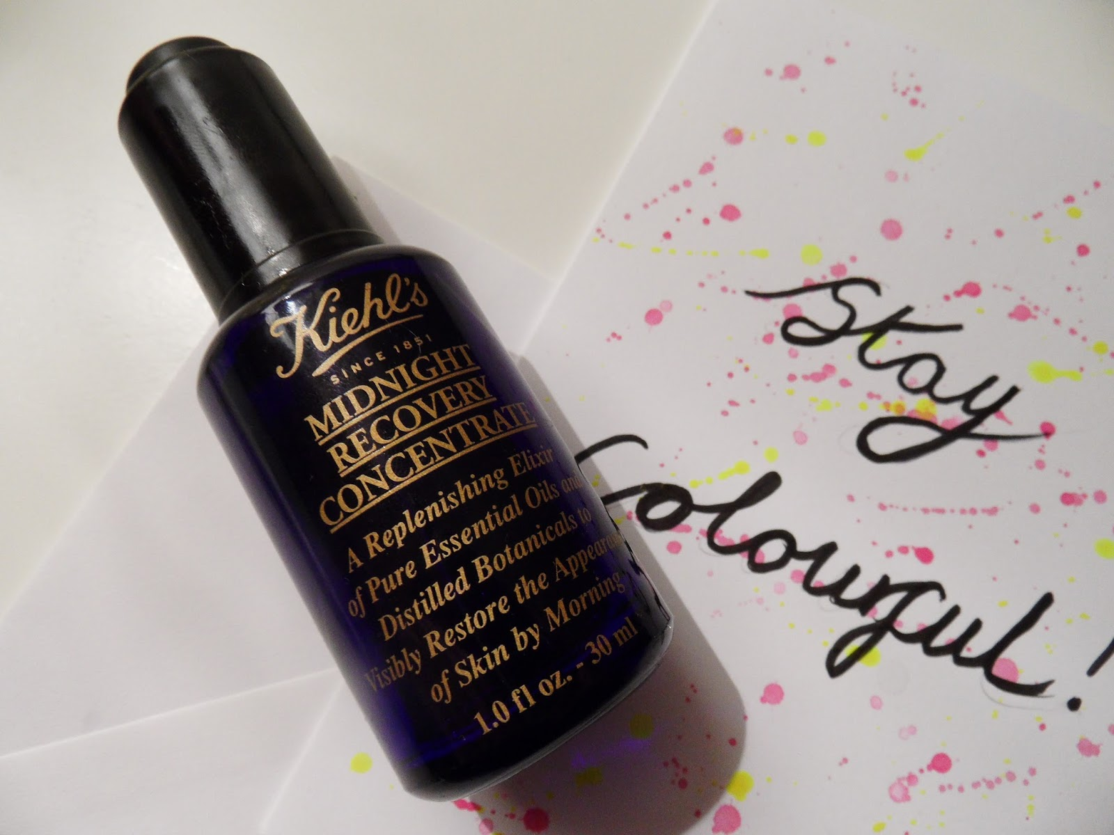KIEHLS MIDNIGHT RECOVERY REVIEW EYELINERFLICKS.COM